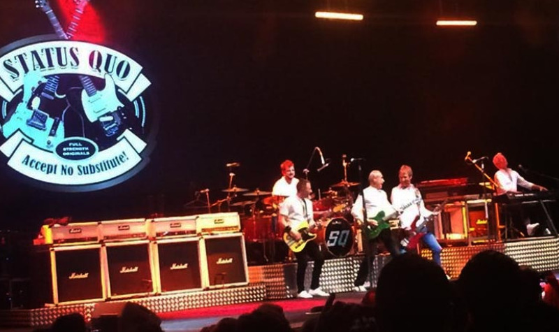 Status Quo rocks to a full house at Marbella's Starlite Festival